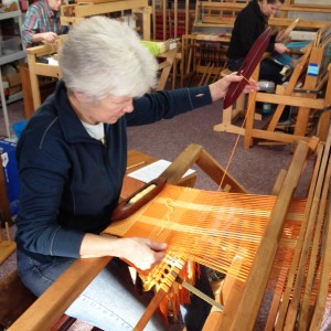 Studio weaving