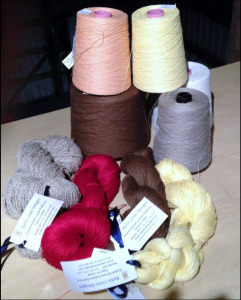 Linen Yarn of assorted types