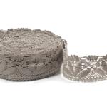 """Natural Linen Lace #22 lace width: 5.5cm (2.16"""") 100% linen $9.15 p/yd"""