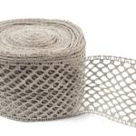 """Natural Linen Lace #29 lace width: 12cm (4.72"""") 100% linen $11.75 p/yd"""